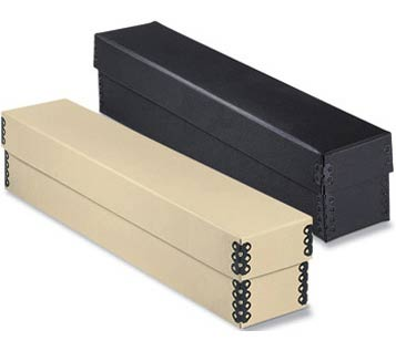 Tan Slidefile Boxes Slide Storage Boxes
