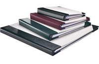 Burgundy Oxford Display Album, Holds 24 x 18 pages