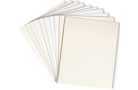 Westminster™ Natural White 8-ply matboard, 11 x 14