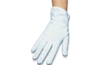 Deluxe White Gloves/Small