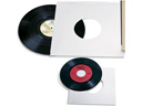 Record Storage Sleeves, 45's, 25/pkg