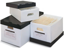 Poly Corrugated Carton, Document Box